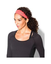 Under Armour | Pink Women's Ua Studio Performance Headband | Lyst