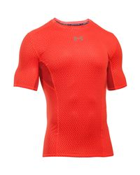 Under Armour - Black Men's Ua Coolswitch Short Sleeve Compression Shirt for Men - Lyst