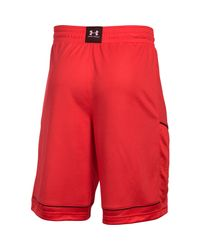 Under Armour - Red Men's Ua Baseline Basketball Shorts for Men - Lyst