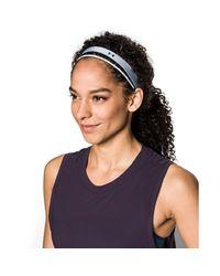 Under Armour - Blue Women's Ua Shimmer Headbands - 3 Pack - Lyst