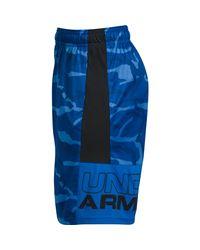 Under Armour - Black Ua Stunt Printed Short for Men - Lyst