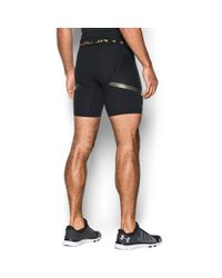 Under Armour - Black Men's Heatgear® Armour Zone Compression Shorts for Men - Lyst
