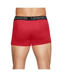 "Under Armour - Multicolor Men's Charged Cotton® 3"" Boxerjock® – 3-pack for Men - Lyst"