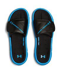 Under Armour - Blue Men's Ua Ignite Water Friendly Slides for Men - Lyst