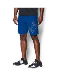 Under Armour - Blue Men's Ua Graphic Woven Shorts for Men - Lyst
