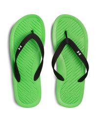 Under Armour Green Men's Ua Atlantic Dune Sandals for men