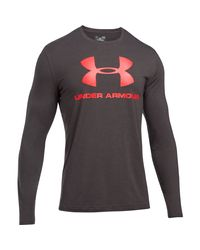 Under Armour - Gray Men's Ua Sportstyle Long Sleeve T-shirt for Men - Lyst