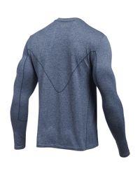 Under Armour | Blue Men's Ua Run Seamless Long Sleeve for Men | Lyst