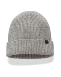 Under Armour Gray Charged Wool Beanie