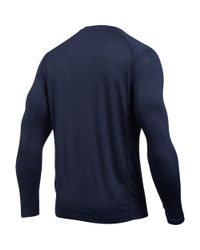 Under Armour - Blue Men's Naval Academy Long Sleeve Training T-shirt for Men - Lyst