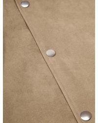 Acne - Brown Tony Velours Jacket for Men - Lyst