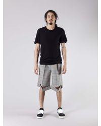 Kris Van Assche - Multicolor Tattersall Slits Short for Men - Lyst