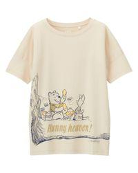 Uniqlo - Multicolor Women Disney Project Short Sleeve Graphic T-shirt - Lyst