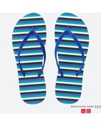 Uniqlo - Blue Women (princesse Tam•tam) Sandals - Lyst