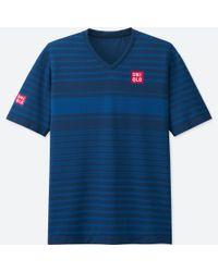 Uniqlo - Blue Men Nk Dry-ex Short-sleeve T-shirt 17fra for Men - Lyst