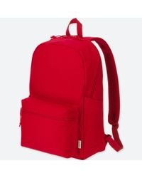 Uniqlo - Red Backpack - Lyst