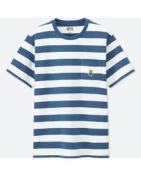 Uniqlo - Blue Minions Short-sleeve Graphic T-shirt for Men - Lyst