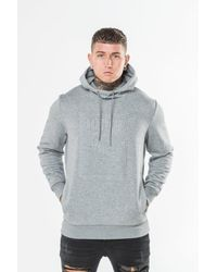PUMA | Gray Embossed Archive Hoodie for Men | Lyst