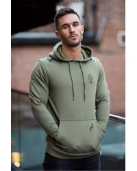 b99c5f27 Gym King Pullover Distressed Hoodie in Green for Men - Lyst
