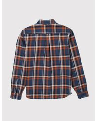 Dickies - Blue Atwood Check Shirt for Men - Lyst