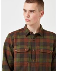Dickies | Green Cooperstown Checked Shirt for Men | Lyst