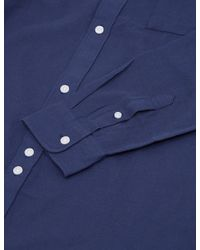 Bellfield - Blue Wester Textured Shirt for Men - Lyst