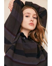 Urban Outfitters - Multicolor Remade Assorted Cropped Rugby Shirt - Lyst
