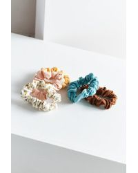 Urban Outfitters - Multicolor Mini Scrunchie Set - Lyst