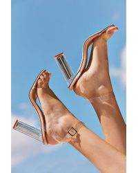 Urban Outfitters | Multicolor Clear Kim Heel | Lyst