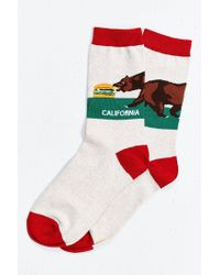Urban Outfitters - Multicolor California Sock for Men - Lyst