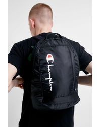 Champion - Black Rucksack for Men - Lyst