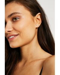 Urban Outfitters - Metallic Ditsy Dino Stud Earrings - Lyst