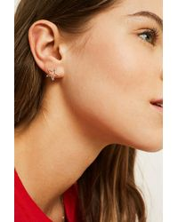 Urban Outfitters - Metallic Star Stud Earrings - Lyst