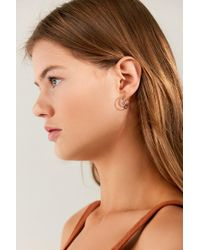 Urban Outfitters - Multicolor Moon + Stars Mini Hoop Earring Set - Lyst