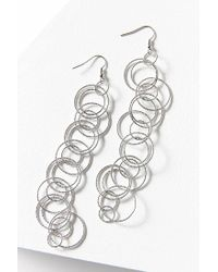 Urban Outfitters - Metallic Loopy Statement Earring - Lyst