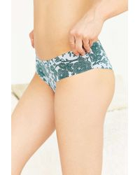Out From Under | Gray Printed No Lines Laser-cut Hipster | Lyst