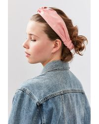 Urban Outfitters - Pink Everyday Headwrap - Lyst