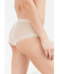 Out From Under - Multicolor Sofia Geo Lace-back Undie - Lyst