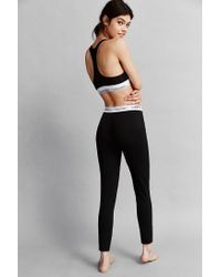 Calvin Klein | Black Classic Logo Legging | Lyst