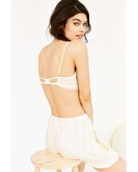 Out From Under - White Grace Lace Bralette - Lyst