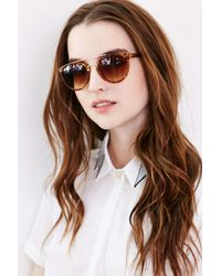 Urban Outfitters | Brown Future Babe Brow Bar Sunglasses | Lyst