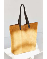 BDG - Brown Suede Tote Bag - Lyst