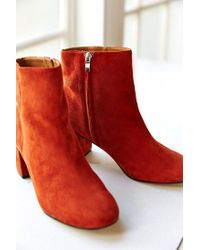 Urban Outfitters - Brown Thelma Suede Ankle Boot - Lyst