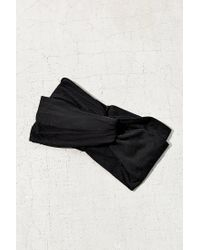 Urban Outfitters - Black Crisscross Bella Headwrap - Lyst
