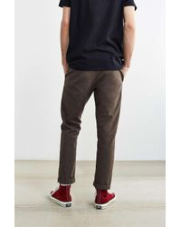 Dickies - Brown X Uo Slim Tapered Herringbone Pant for Men - Lyst