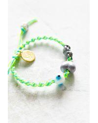 Venessa Arizaga - Green I Love Cats Bracelet - Lyst