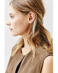 Urban Outfitters - Metallic Tiny Triangle Ear Climber Earring - Lyst