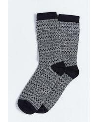 Urban Outfitters | Black Skate Pattern Sock for Men | Lyst