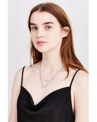 Urban Outfitters - Metallic Every Angle Layering Necklace - Lyst