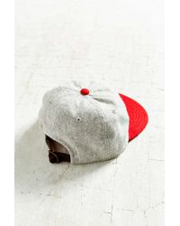 American Needle - Gray Stateman Wool Baseball Hat - Lyst